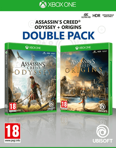 Assassin's Creed Origins + Odyssey (Xbox One)