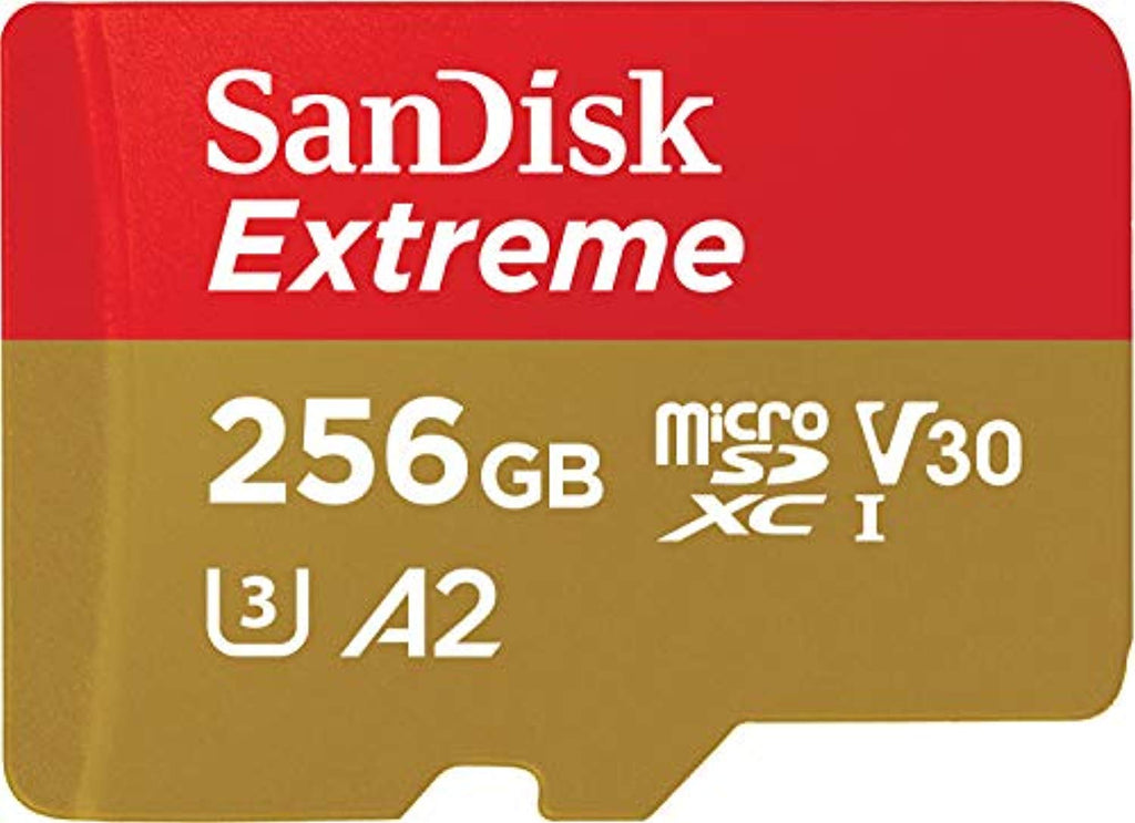 SanDisk Extreme 256 GB microSDXC Memory Card - Offer Games