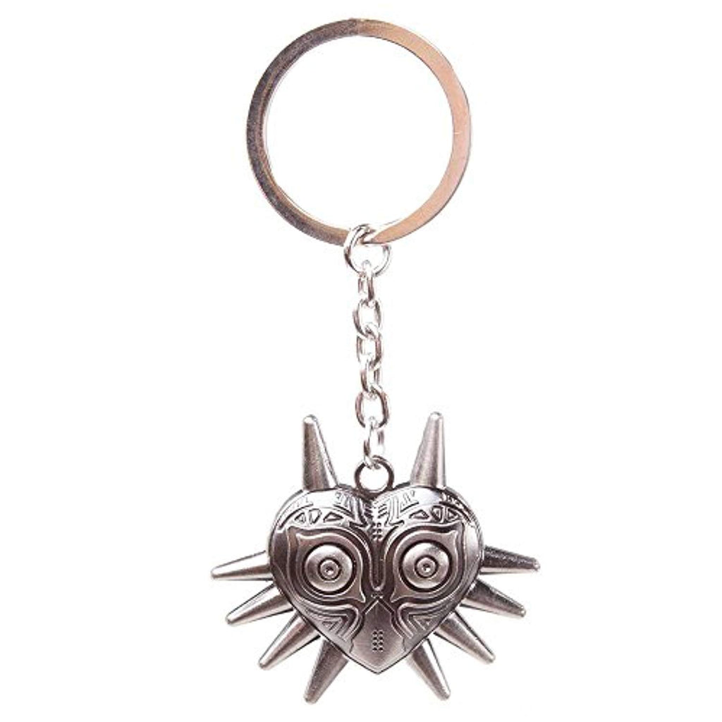 "Zelda ""Nintendo Legend of Zelda Majora's Mask"" Metal Keychain (Grey) - Offer Games"
