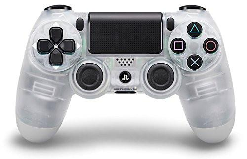 Sony PlayStation DualShock 4 Controller - Crystal - Offer Games