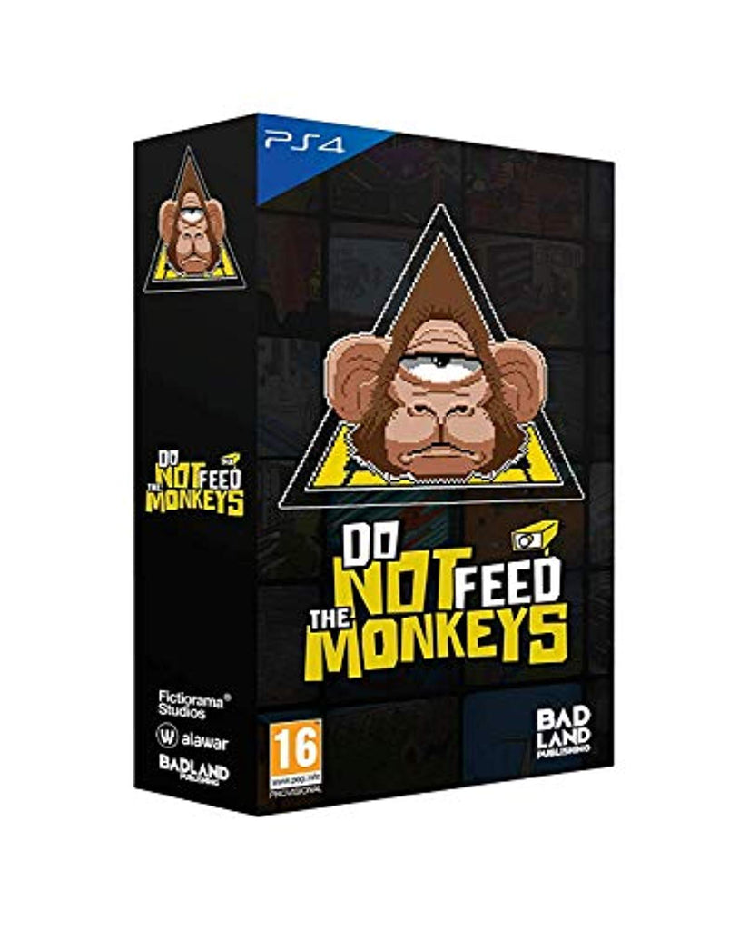 Do Not Feed The Monkeys: Collector's Edition (PS4)
