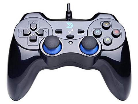 Vibration USB Wired Gamepad Controller Joystick PC - Offer Games