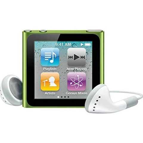 Apple Ipod Nano 6th Generation Mp3 Player (8 GB, GREEN) - Offer Games