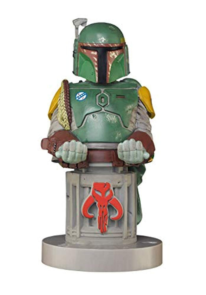 "Cable Guy, Star Wars ""Boba Fett"" Collectable gaming controller and mobile phone charging holder"" - Stands 9 -Inches/ 24cm tall (incl base) (PS4/) - Offer Games"