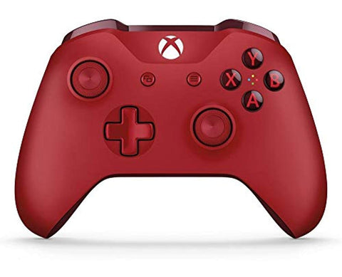 Microsoft Official Xbox Wireless Red Controller - Offer Games