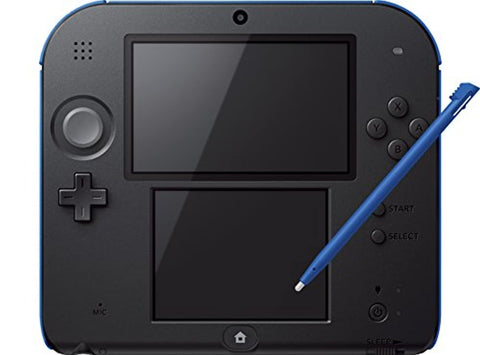 Nintendo Handheld Console 2DS Black/Blue (USED)
