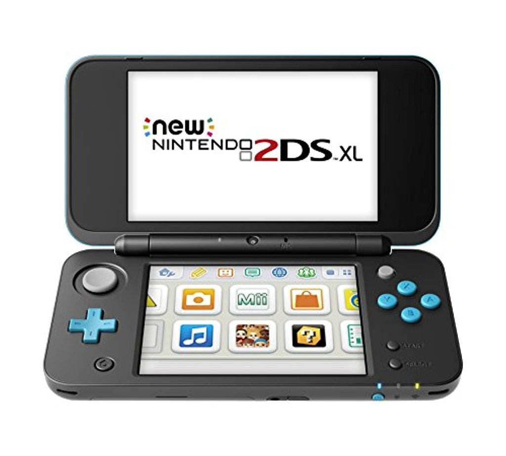 New Nintendo 2DS XL Console - Black & Turquoise (USED)