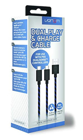 Venom 3 Metre Dual Play & Charge Cable (PS5)