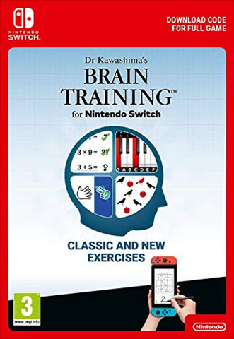 Dr Kawashima's Brain Training for Standard (Nintendo Switch Download)