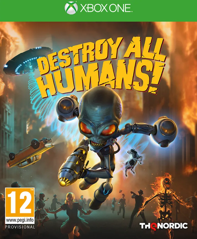 Destroy All Humans Remake (Xbox One) - Offer Games