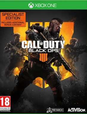 Call of Duty: Black Ops 4 Specialist Edition (Xbox One) - Offer Games