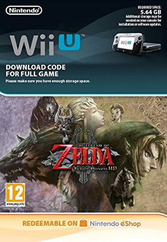 The Legend of Zelda Twilight Princess (Wii U Download Code)