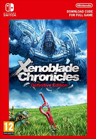 Xenoblade Chronicles Definitive Edition (Nintendo Switch Download Code)