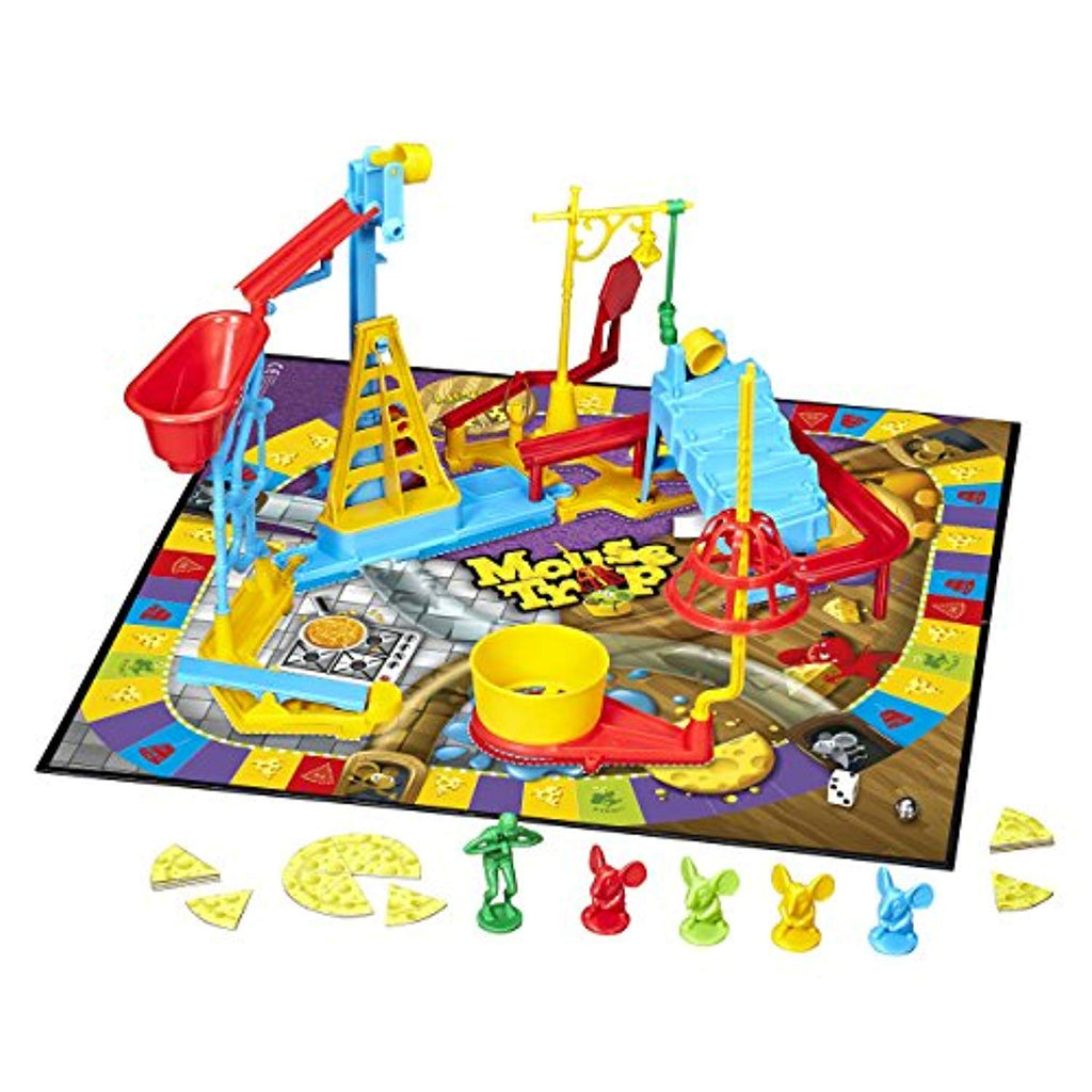 Hasbro Gaming Mouse Trap Board Game - Offer Games
