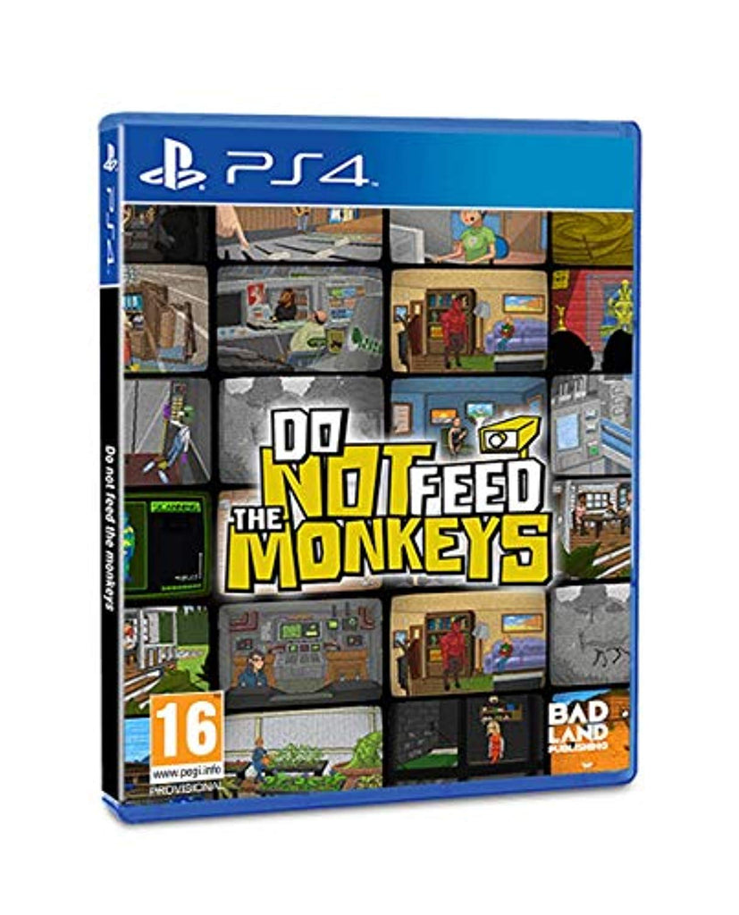 Do Not Feed The Monkeys (PS4) - Offer Games