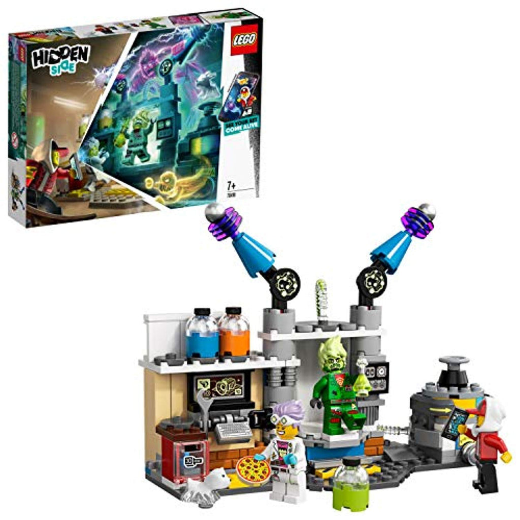 LEGO 70418 Hidden Side J.B.'s Ghost Lab Set, AR Games App, Interactive Augmented Reality Playset for iPhone/Android - Offer Games