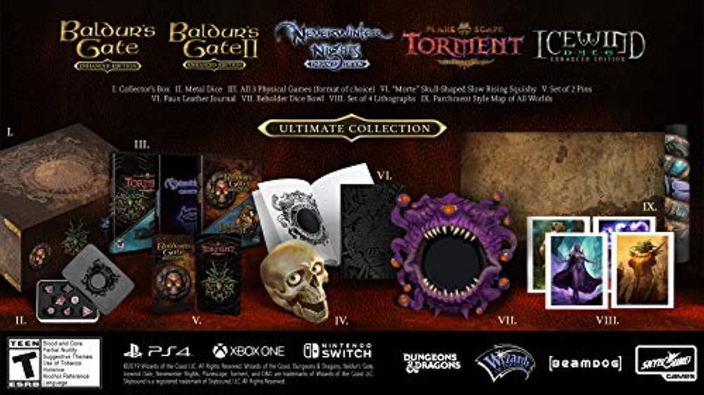 Beamdog Ultimate Collector's Pack (PS4) - Offer Games