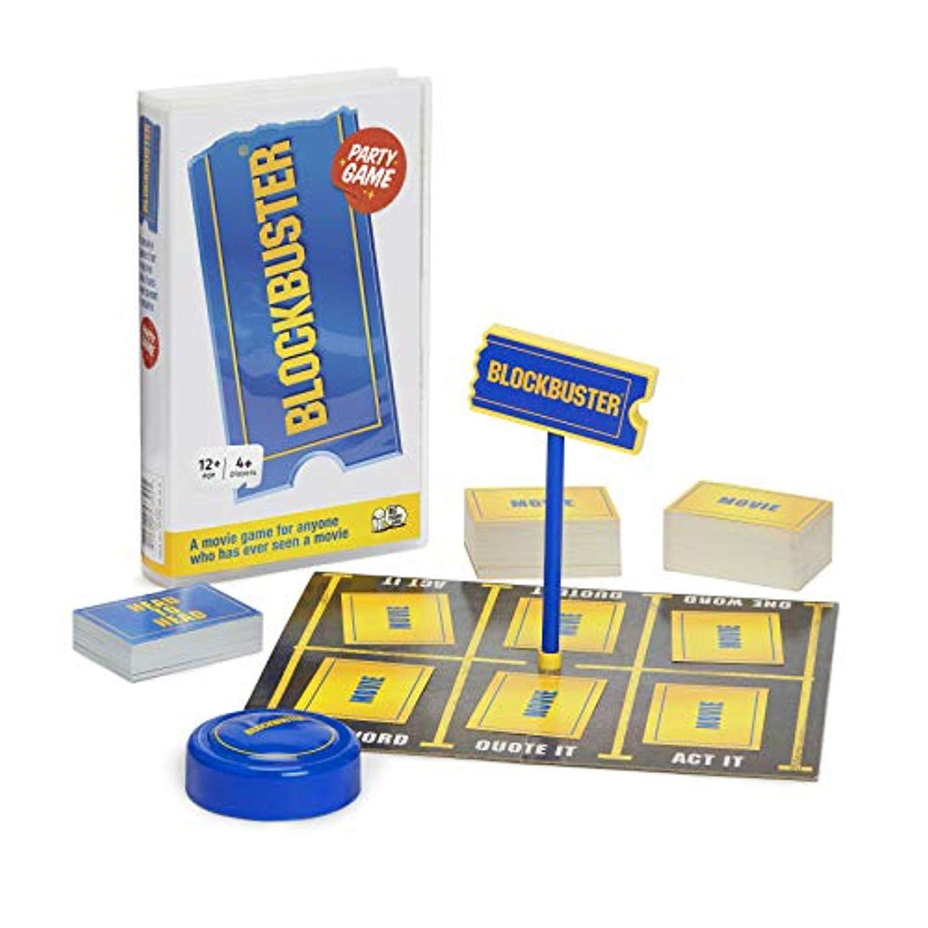 The Blockbuster Game: The Movie Board Game For Adults And Teenagers - Offer Games