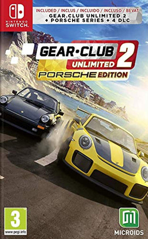 Gear Club Unlimited 2: Porsche Edition (Nintendo Switch) - Offer Games