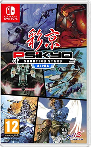 Psikyo Shooting Stars Alpha Limited Edition (Nintendo Switch) - Offer Games