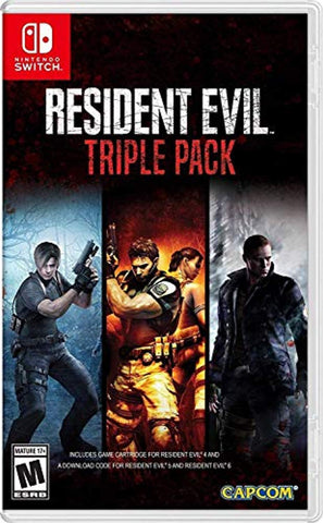 Resident Evil Triple Pack (Nintendo Switch) - Offer Games