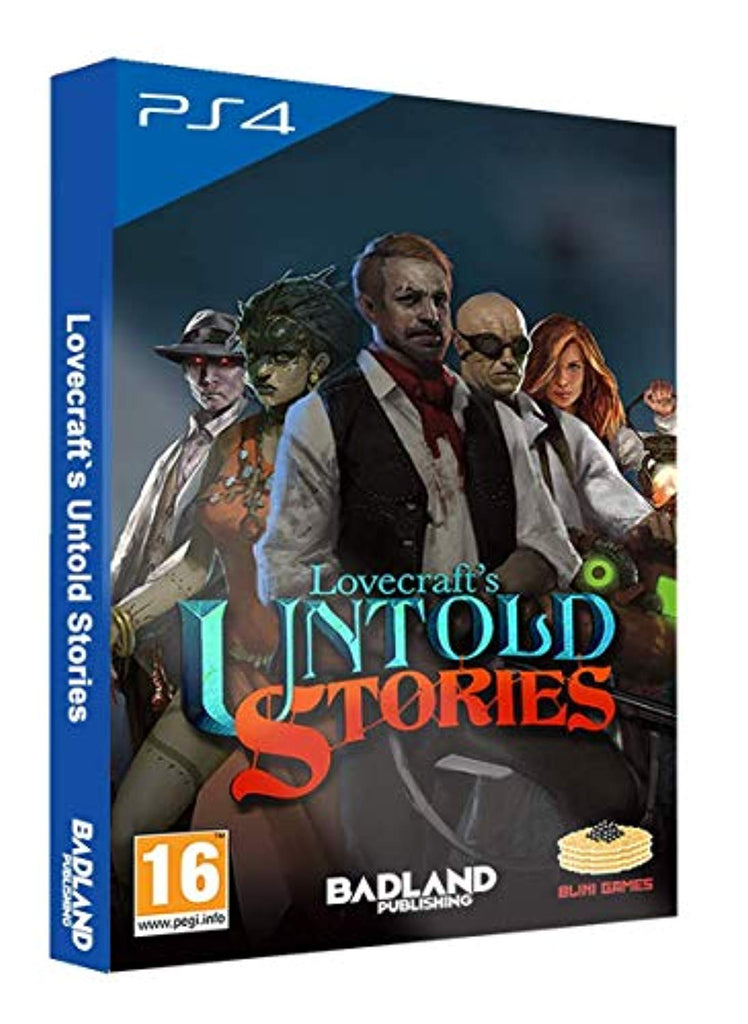Lovecraft's Untold Stories: Collector's Edition (PS4) - Offer Games