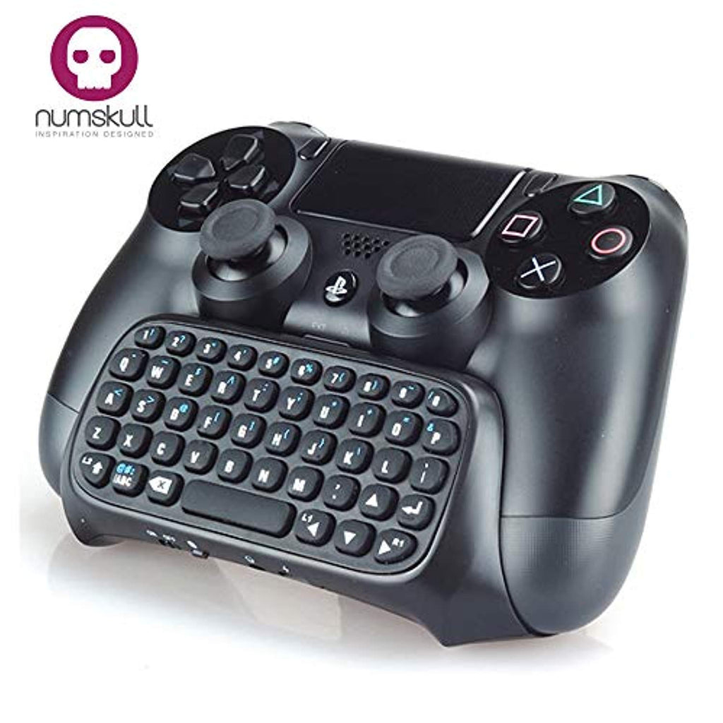 Numskull PlayStation 4 PS4 Bluetooth Wireless Mini Keyboard / Chatpad - Offer Games