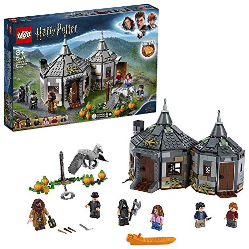 LEGO 75947 Harry Potter Hagrid's Hut: Buckbeak's Rescue Playset with Hippogriff Figure, Gift Idea for Wizarding World Fans, Multicolour - Offer Games
