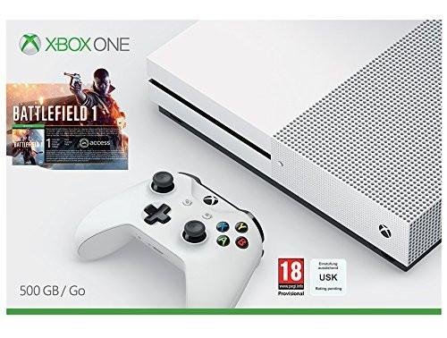 Xbox One S Battlefield Bundle (500GB) - Offer Games
