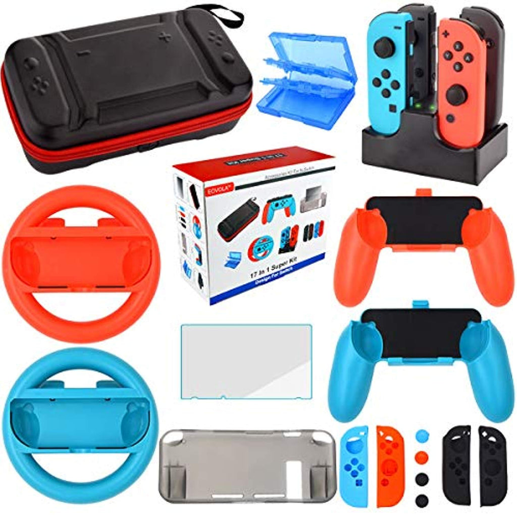 Nintendo Switch Accessories Starter Kit (17 in 1) - Offer Games