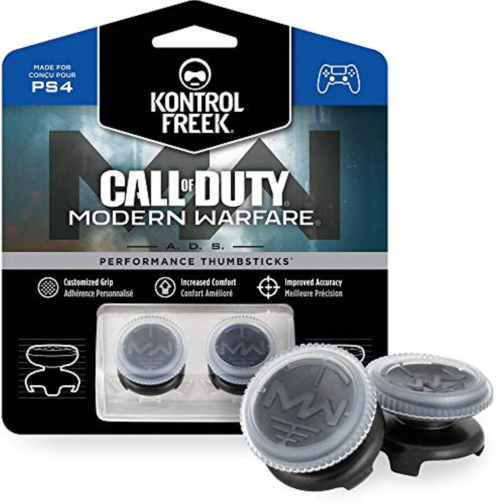 KontrolFreek Call of Duty: Modern Warfare - A.D.S. Performance Thumbsticks (PS4) - Offer Games
