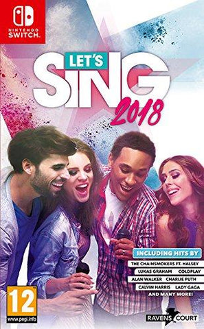 Let's Sing 2018 + 1 Microphone (Nintendo Switch) - GameIN