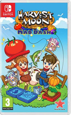 Harvest Moon: Mad Dash (Nintendo Switch) - Offer Games