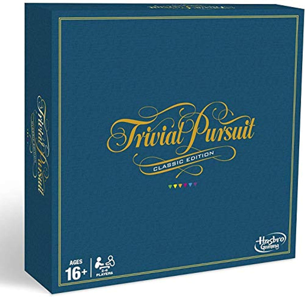 Hasbro Gaming Trivial Pursuit Board Game: Classic Edition - Offer Games