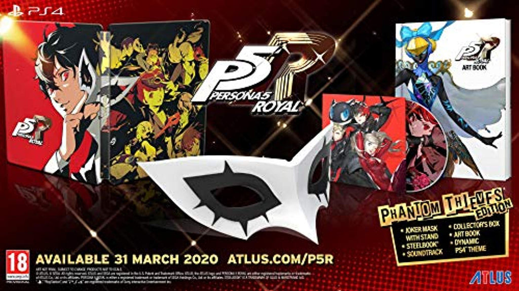 Persona 5 Royal Phantom Thieves Edition (PS4) - Offer Games