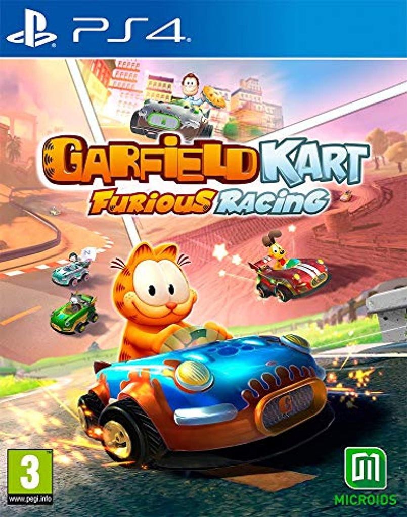 Garfield Kart Furious Racing (PS4) - Offer Games