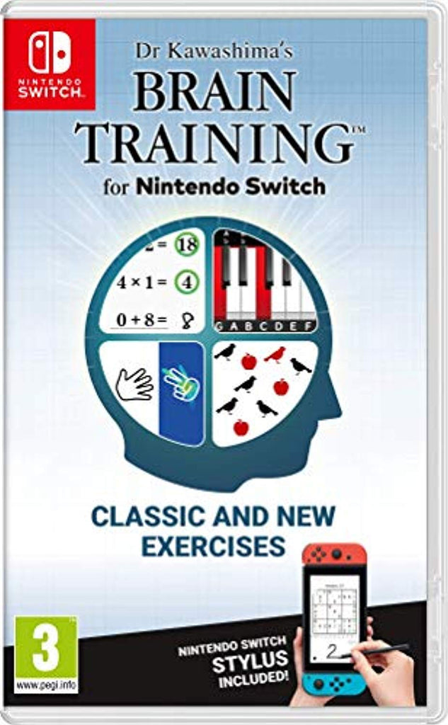 Dr Kawashima's Brain Training (Nintendo Switch) - Offer Games