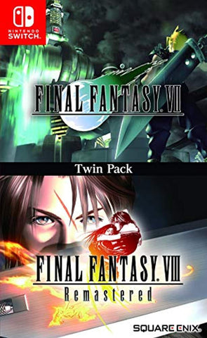 Final Fantasy VII & VIII Remastered Twin Pack (Nintendo Switch) - Offer Games