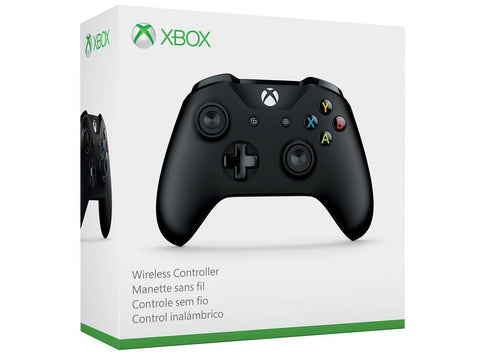 Xbox One Black Wireless Controller - Offer Games