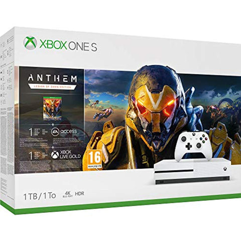Xbox One S 1TB Console - Anthem Bundle (Xbox One) - Offer Games