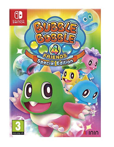 Bubble Bobble 4 Friends Special Edition (Nintendo Switch) - Offer Games