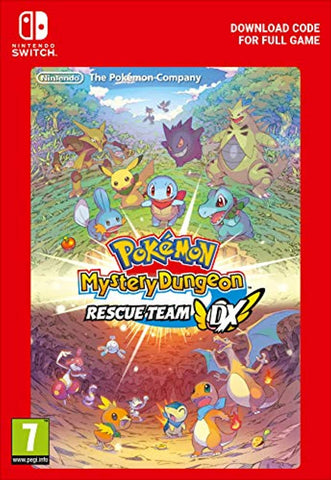 Pokémon Mystery Dungeon: Rescue Team DX (Nintendo Switch Download Code)