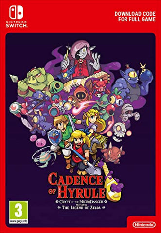 Cadence of Hyrule - Crypt of the NecroDancer Featuring The Legend of Zelda (Nintendo Switch Download)