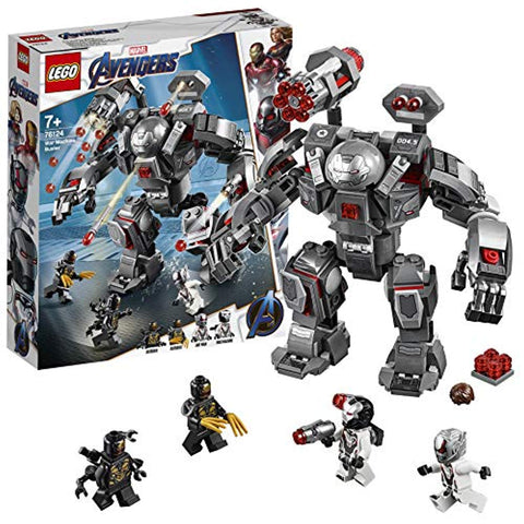 LEGO 76124 Marvel Avengers War Machine Action Figure, Ant-Man Minifigure, Super Heroes Playset, Colourful - Offer Games