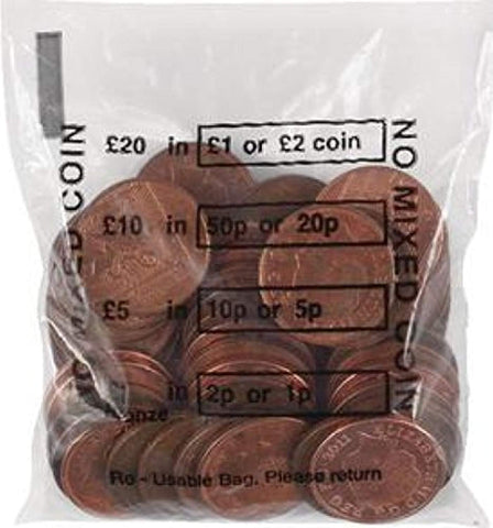 Cash Denominated Coin Bags (Pack of 5000) - Offer Games