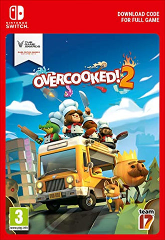 Overcooked! 2 (Nintendo Switch Download Code)