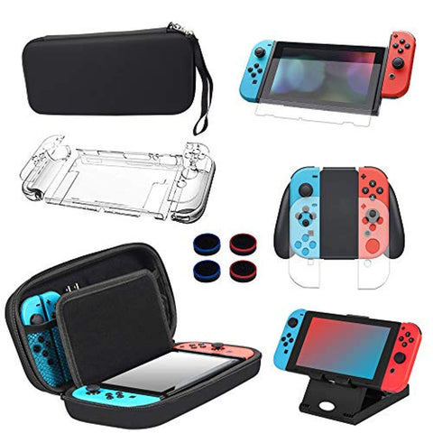 13 in 1 Case & Accessories Kit for Nintendo Switch - Offer Games