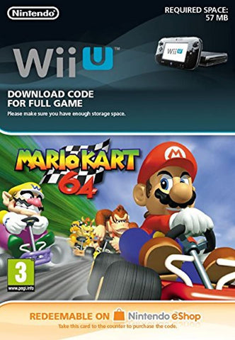Mario Kart 64 (Wii U Download Code)