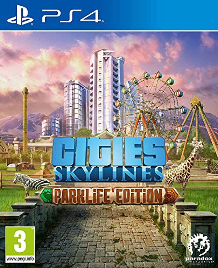 Cities Skylines: Parklife Edition (PlayStation 4) (PS4) - Offer Games