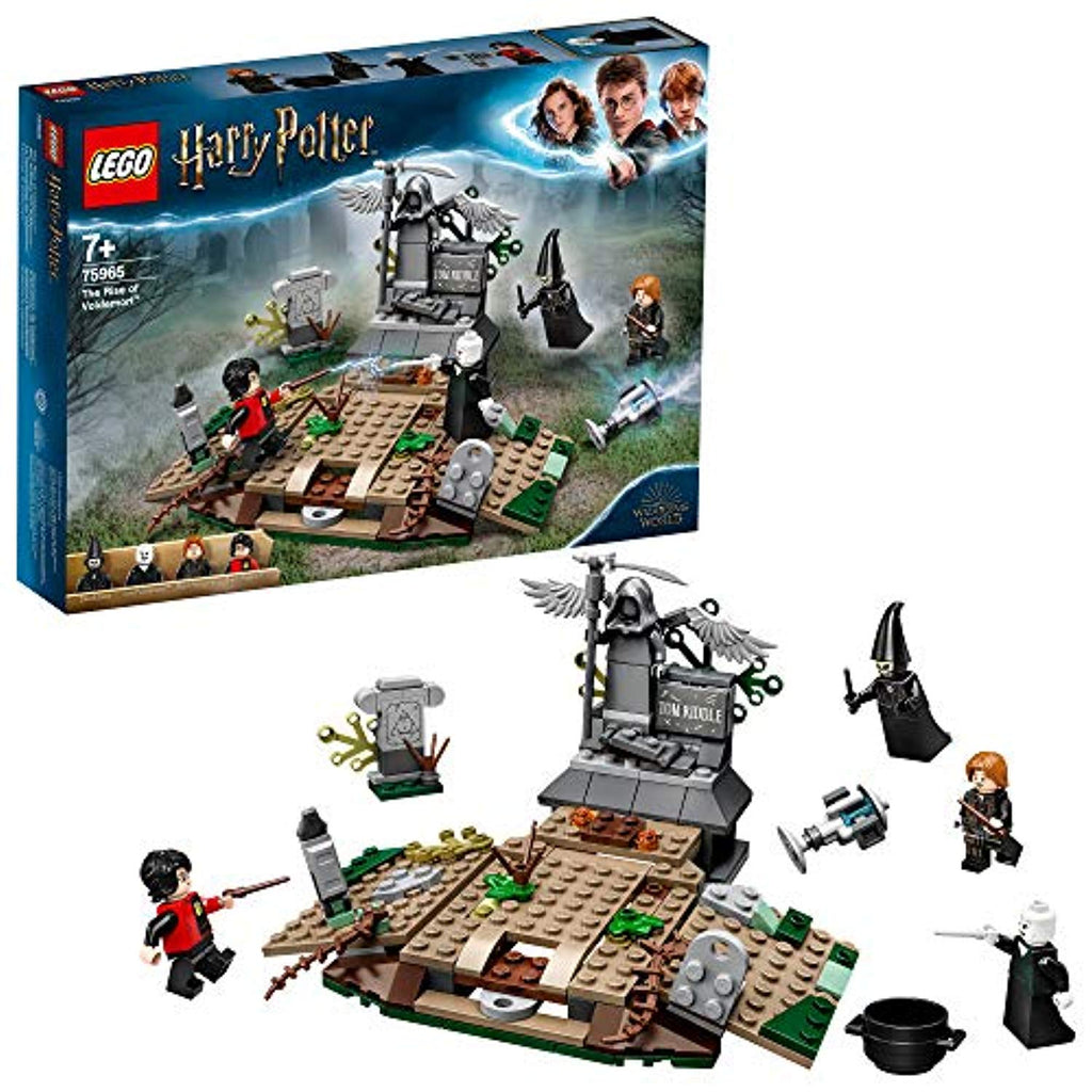 LEGO 75965 Harry Potter and The Goblet of Fire The Rise of Voldemort Collectible Building Set for Wizarding World Fans - Offer Games